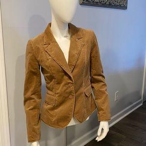 🍁 H&M Brown Corduroy Jacket Size 6